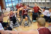 Eiropas Čempionāta pirmā spēle, pret Krieviju